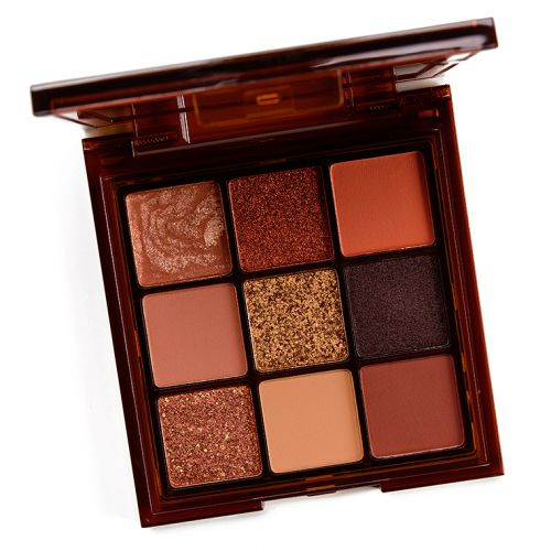 Huda Beauty Caramel Brown Obsessions Eyeshadow Palettes Review & Swatches