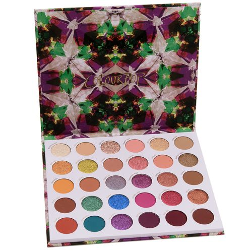 ColourPop Play It Jewel Mega Eyeshadow Palette Review & Swatches