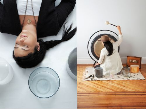 Why Sound Baths Are the Latest Form of Self-Care We All Need Right Now