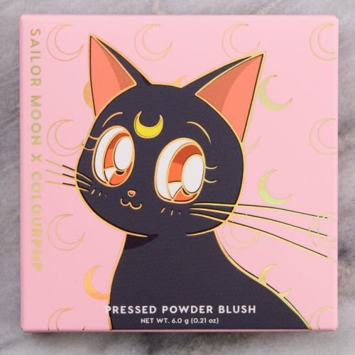 ColourPop x Sailor Moon Cat's Eye Blush Review & Swatches