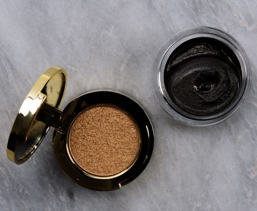 Tom Ford Black Sand Cream & Powder Eye Color Review & Swatches
