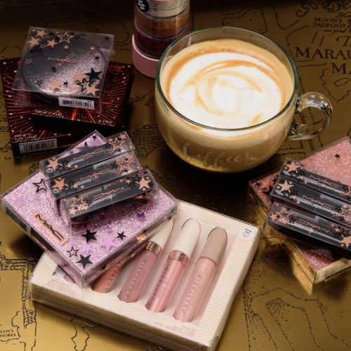 Holiday 2019 Swatches - Charlotte Tilbury Magic Star & Instant Look, Anastasia Sets
