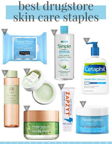 The Best Drugstore Skin Care Product Staples