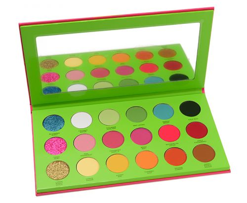 Coloured Raine Juicy Boost Pressed Pigment Palette Review & Swatches