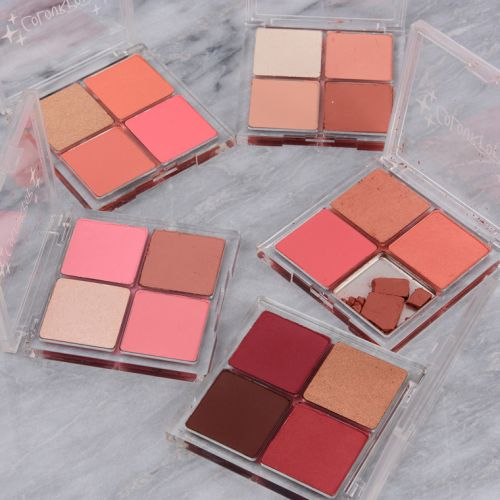 ColourPop Sweet Cheeks Collection Swatches