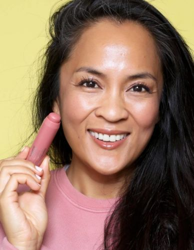 10-Minute Makeup Must-Haves: Clinique Chubby Stick in Amp'd Up Apple