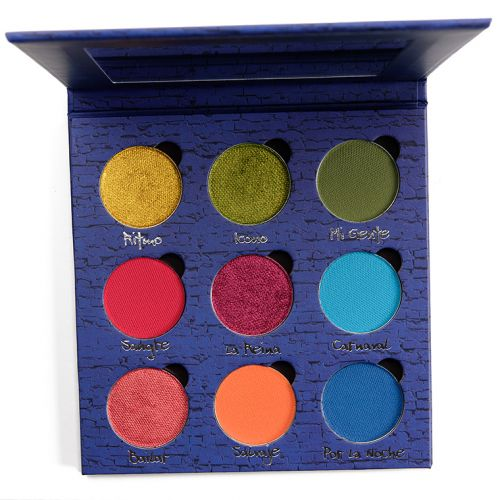 Terra Moons El Barrio Palette Review & Swatches