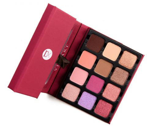 Viseart Rosé Edit Eyeshadow Palette Review & Swatches