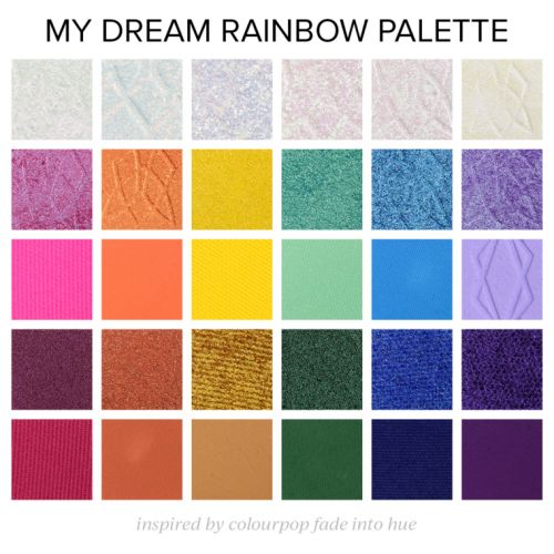 A Rainbow-Inspired Palette to Dream About | Mega Edition
