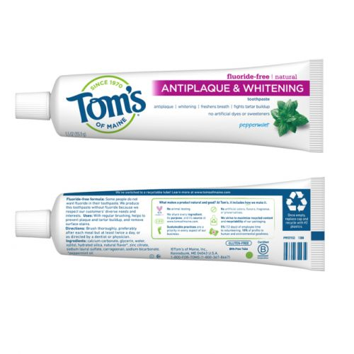 Tom's of Maine Gave Its Toothpaste a Low-Key Makeover That We're Actually Impressed By