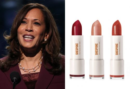 """This Lipstick Collection Is Inspired by Kamala Harris's Iconic """"I'm Speaking"""" Debate Moment"""