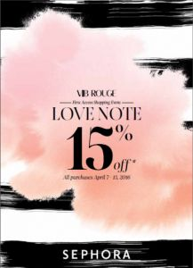 This Week's Sales for April 11th, 2016