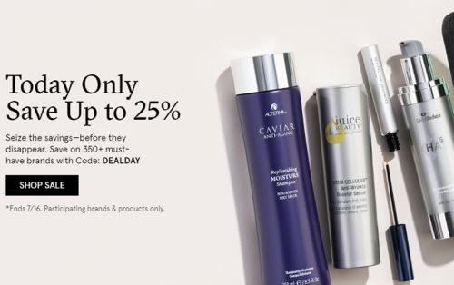 DermStore - 25% Off Today Only + My Picks