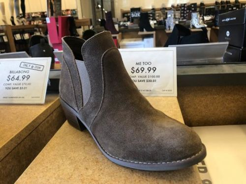 Transitional Booties at DSW