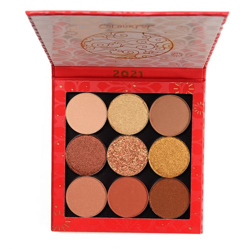 ColourPop Get That Coin Curated Shadow Palette Review & Swatches