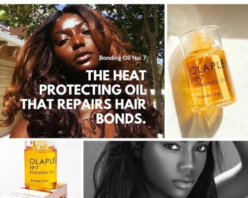This Heat Protecting Oil Has the Ability to Scientifically Rebuild Your Hair!