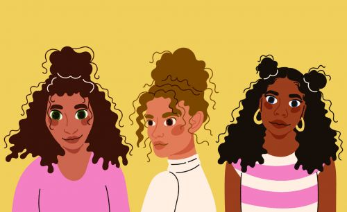 Sun's Out, Buns Up: Vacation Hairstyles for Curly Hair