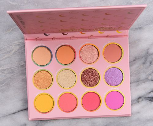 ColourPop x Sailor Moon Pretty Guardian Eyeshadow Palette Review & Swatches