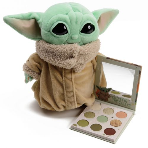 ColourPop x Baby Yoda The Child Palette Swatches