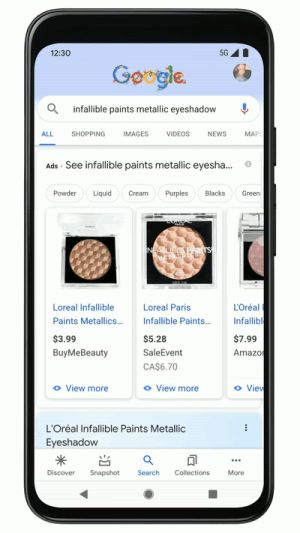 Google's Newest Feature Allows Users to Virtually Try on Thousands of Makeup Products Before Buying