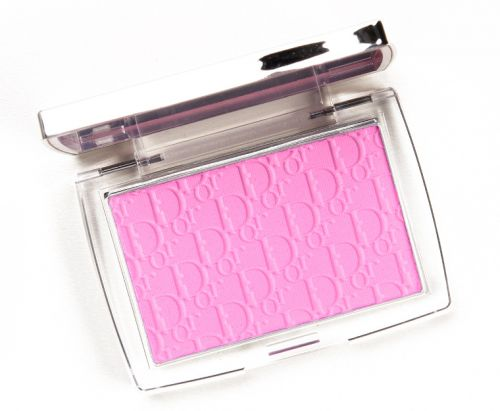 Dior Pink (001) Backstage Rosy Glow Blush Review & Swatches