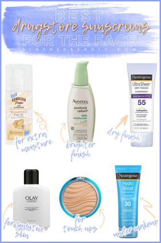 6 Best Drugstore Sunscreens for the Face