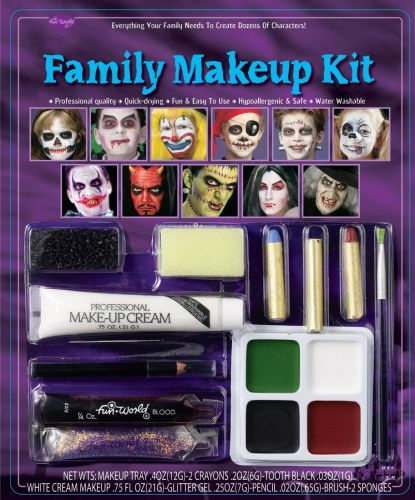 Using These Halloween Makeup Products Could Result in a Nightmarish Breakout