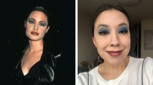 I Tried '90s Makeup Trends To See If They Would Hold Up Today