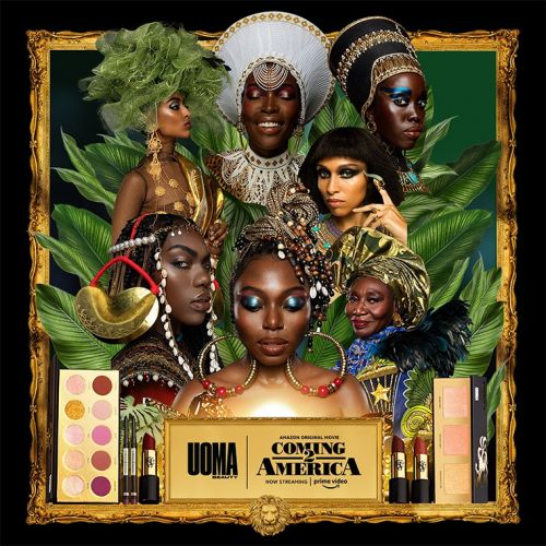 UOMA Beauty x Coming to America 2 Collection for Spring 2021