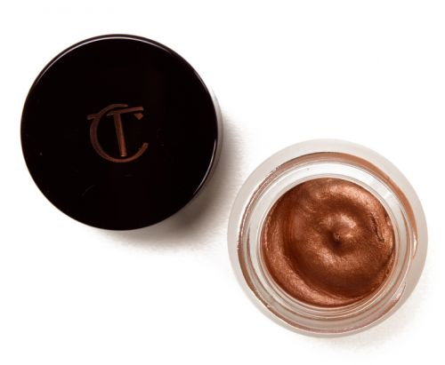 Charlotte Tilbury Star Gold & Rose Gold Eyes to Mesmerise Cream Eyeshadows Reviews & Swatches