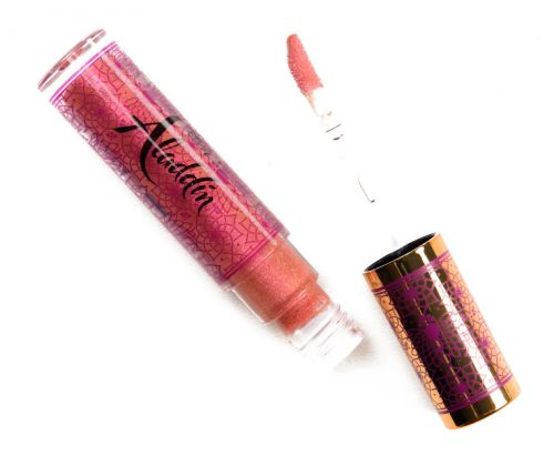 MAC x Disney Aladdin Lipglasses Reviews & Swatches