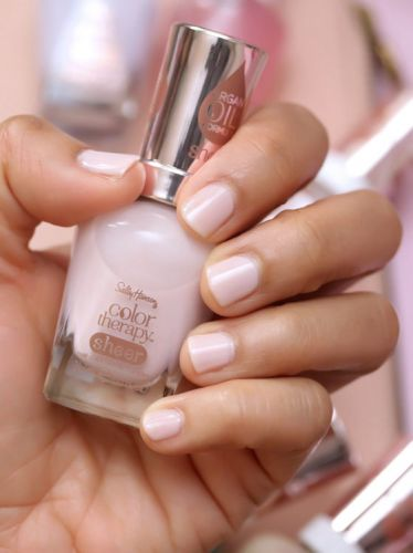 Product Spotlight: Sally Hansen Sheer Color Therapy Nail Polish