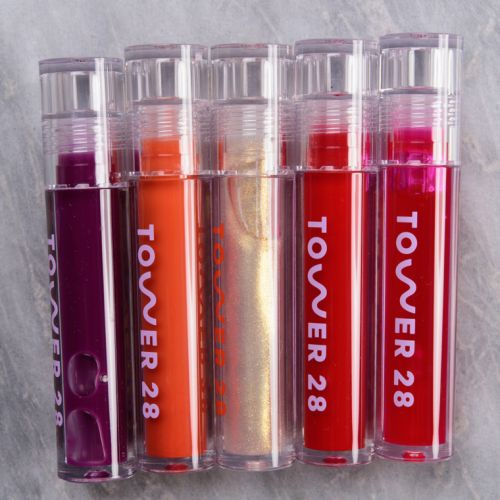 Tower 28 ShineOn Jelly Lip Gloss Swatches