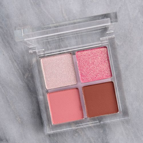 ColourPop Extra Toppings Eyeshadow Quad Review & Swatches