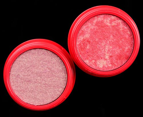 ColourPop x Halo Top Strawberry Super Shock Pigment Duo Review & Swatches