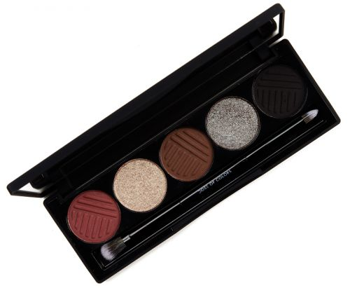 Dose of Colors Smokey Soiree Eyeshadow Palette Review & Swatches