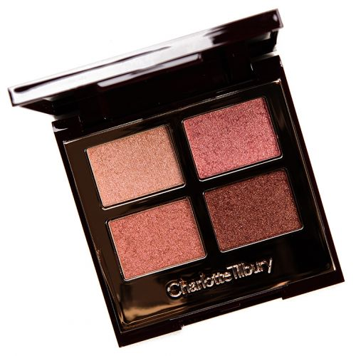 Charlotte Tilbury Pillow Talk Palette of Pops Eyeshadow Quad Review & Swatches