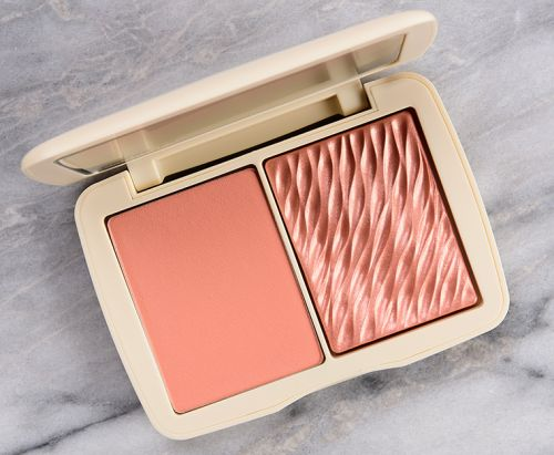 Cover FX Soft Peach Monochromatic Blush Duo Review & Swatches