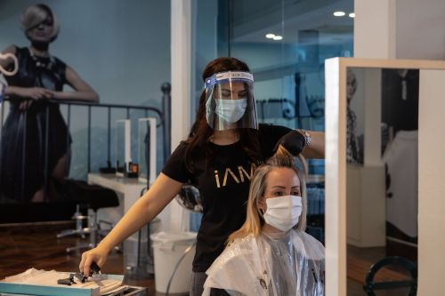 Why You Might See Hairstylists Wearing Goggles at Salon Appointments Now