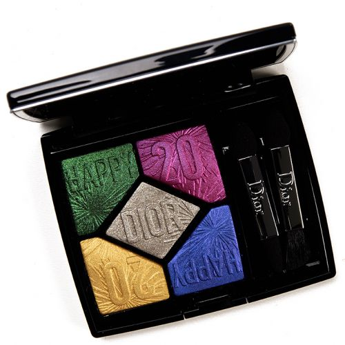 Dior Party in Colours (007) Eyeshadow Palette Review & Swatches