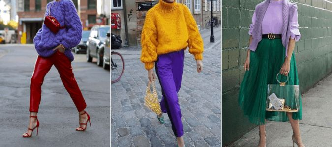 How Redheads Can Wear Purple This Fall