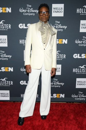 I'm Honestly Living for Billy Porter's Pussybow Look at the GLSEN Respect Awards