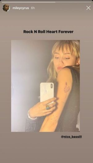 Miley Cyrus' New Tattoo Says A Lot About Her Relationship With Cody Simpson