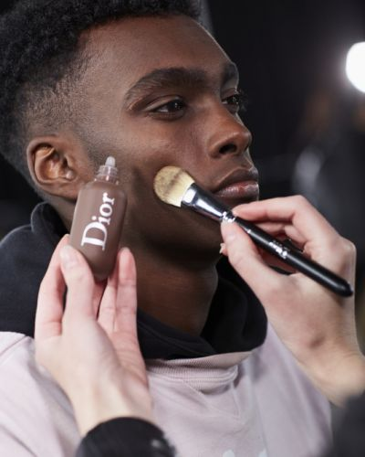 The Dior Fashion Show Took Men's Makeup to Another Level