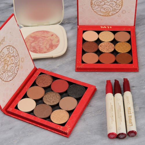 ColourPop Lunar New Year Collection Swatches