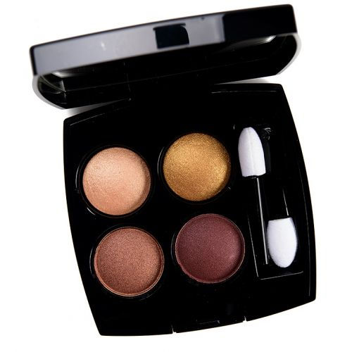 Chanel Lumieres et Vibrations (382) Eyeshadow Quad Review & Swatches