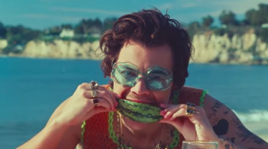 I Need the Watermelon Polish Harry Styles is Wearing in His New Video
