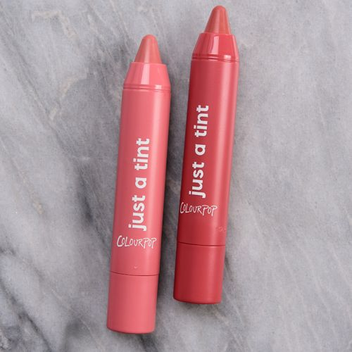 ColourPop Sweetest Thing Just a Tint Lippie Tint Duo Review & Swatches