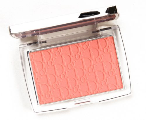 Dior Coral (004) Backstage Rosy Glow Blush Review & Swatches