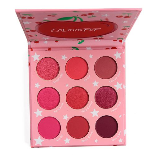 ColourPop Cherry Crush Palette Review & Swatches